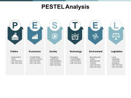 Pestel Analysis Compare Ppt Powerpoint Presentation Outline Show
