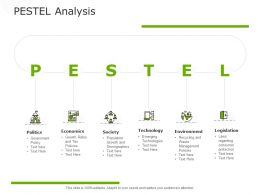 PESTEL Analysis Environment Legislation Ppt Powerpoint Presentation Inspiration Designs Download