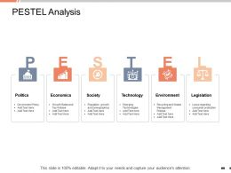 PESTEL Analysis Environment Ppt Powerpoint Presentation Outline Graphics Example