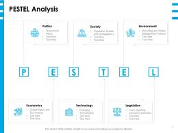 PESTEL Analysis L1399 Ppt Powerpoint Presentation Layouts Influencers