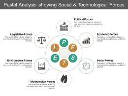 Pestel Analysis Showing Social And Technological Forces