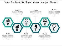 Pestel Analysis Six Steps Having Hexagon Shaped