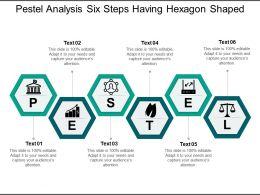 pestel_analysis_six_steps_having_hexagon_shaped_Slide01