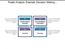 Pestle Analysis Example Decision Making Techniques Project Risk Management Cpb