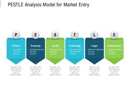 Pestle Analysis Model For Market Entry