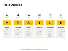 Pestle Analysis Ppt Powerpoint Presentation Pictures Example