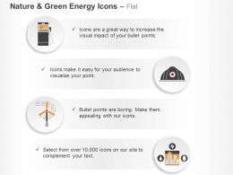 Petrol Pump Safety Cap Fan Energy Home Ppt Icons Graphics