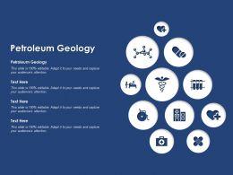 Petroleum Geology Ppt Powerpoint Presentation Model Template