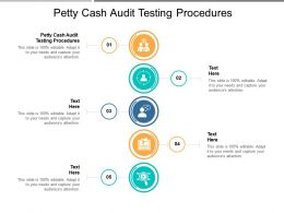 Petty Cash Audit Testing Procedures Ppt Powerpoint Presentation Outline Cpb