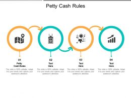 Petty Cash Rules Ppt Powerpoint Presentation Summary Files Cpb