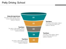 Petty Driving School Ppt Powerpoint Presentation Portfolio Graphics Cpb