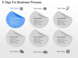 pg 6 Tags For Business Process Powerpoint Template