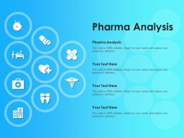 Pharma Analysis Ppt Powerpoint Presentation Summary Clipart