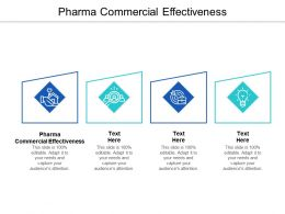 Pharma Commercial Effectiveness Ppt Powerpoint Presentation Inspiration Professional Cpb