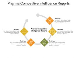 Pharma Competitive Intelligence Reports Ppt Powerpoint Presentation Professional Layout Cpb
