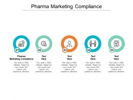 Pharma Marketing Compliance Ppt Powerpoint Presentation Gallery Sample Cpb