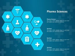 Pharma Sciences Ppt Powerpoint Presentation Layouts Rules
