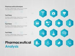 Pharmaceutical Analysis Ppt Powerpoint Presentation Inspiration Graphics Template