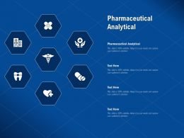 Pharmaceutical Analytical Ppt Powerpoint Presentation Inspiration Slideshow