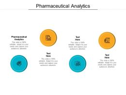 Pharmaceutical Analytics Ppt Powerpoint Presentation Show Graphic Images Cpb