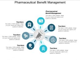 Pharmaceutical Benefit Management Ppt Powerpoint Presentation Icon Guide Cpb