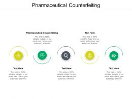Pharmaceutical Counterfeiting Ppt Powerpoint Presentation Pictures Background Designs Cpb