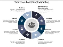 Pharmaceutical Direct Marketing Ppt Powerpoint Presentation Ideas Mockup Cpb