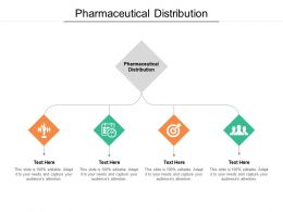 Pharmaceutical Distribution Ppt Powerpoint Presentation Icon Gallery Cpb