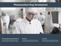 Pharmaceutical Drug Development Ppt Powerpoint Presentation Ideas Examples Cpb