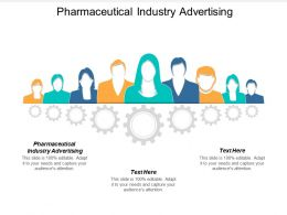 Pharmaceutical Industry Advertising Ppt Powerpoint Presentation Ideas Icon Cpb