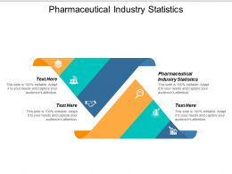 Pharmaceutical Industry Statistics Ppt Powerpoint Presentation Model Show Cpb