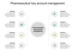 Pharmaceutical Key Account Management Ppt Powerpoint Presentation Infographic Cpb