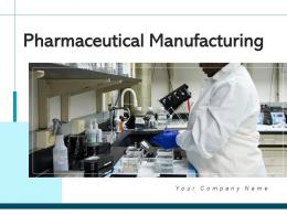 Pharmaceutical Manufacturing Research Process Products Laboratory Analysis