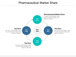 Pharmaceutical Market Share Ppt Powerpoint Presentation Styles Deck Cpb