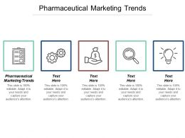 Pharmaceutical Marketing Trends Ppt Powerpoint Presentation Ideas Layout Ideas Cpb