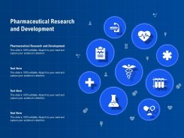 Pharmaceutical Research And Development Ppt Powerpoint Presentation Pictures Example