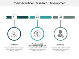 Pharmaceutical Research Development Ppt Powerpoint Presentation Show Slides Cpb