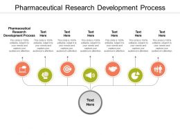 Pharmaceutical Research Development Process Ppt Styles Example Introduction Cpb