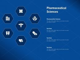 Pharmaceutical Sciences Ppt Powerpoint Presentation Portfolio Introduction