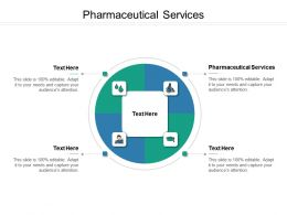 Pharmaceutical Services Ppt Powerpoint Presentation Styles Ideas Cpb