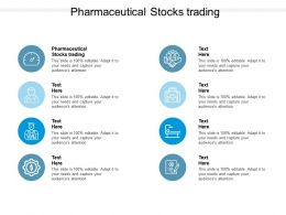 Pharmaceutical Stocks Trading Ppt Powerpoint Presentation Icon Graphics Download Cpb