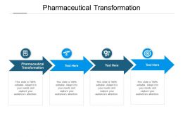 Pharmaceutical Transformation Ppt Powerpoint Presentation Portfolio Design Inspiration Cpb
