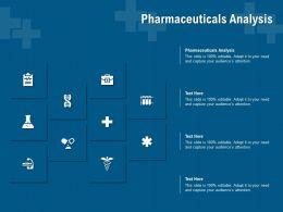 Pharmaceuticals Analysis Ppt Powerpoint Presentation Show Slide Portrait