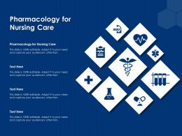 Pharmacology For Nursing Care Ppt Powerpoint Presentation Ideas Show