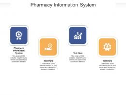 Pharmacy Information System Ppt Powerpoint Presentation Professional Show Cpb