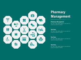 Pharmacy Management Ppt Powerpoint Presentation Show Background Designs