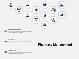 Pharmacy Management Ppt Powerpoint Presentation Summary Layouts