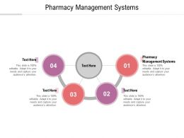 Pharmacy Management Systems Ppt Powerpoint Presentation Gallery Design Ideas Cpb