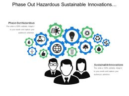 Phase Out Hazardous Sustainable Innovations Develop Leaders Employees