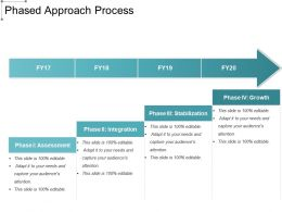 Phased Approach Process Powerpoint Layout